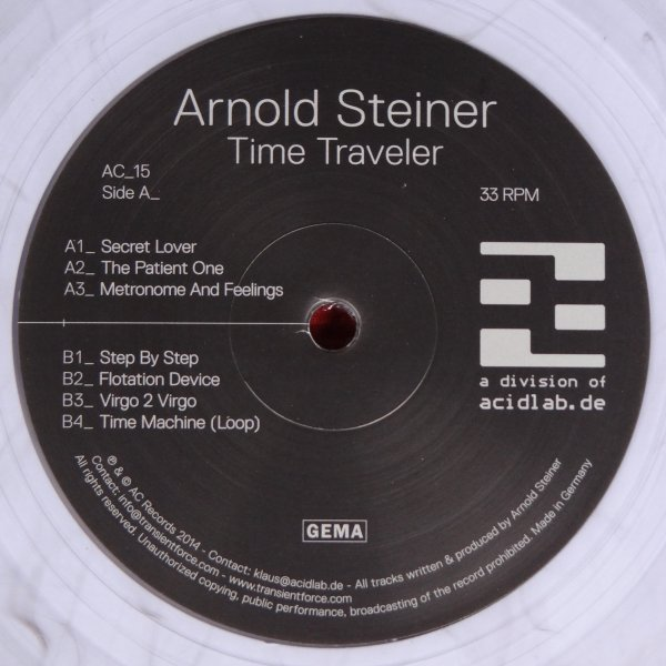 Arnold Steiner ‎– Time TravelerAC_15